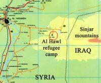 Al Hawl camp on the map_edit